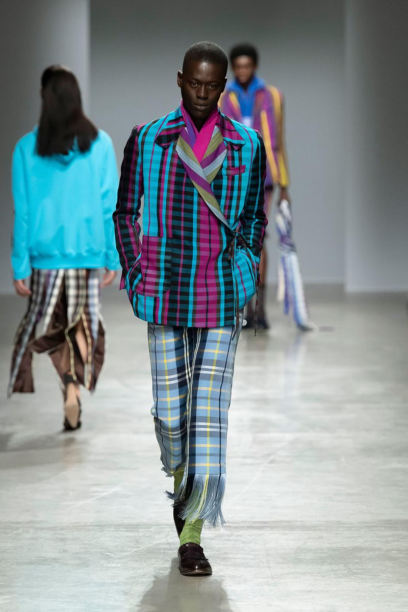 Kenneth Ize Fall/Winter 2020 Collection Runway Show Jacket Pants