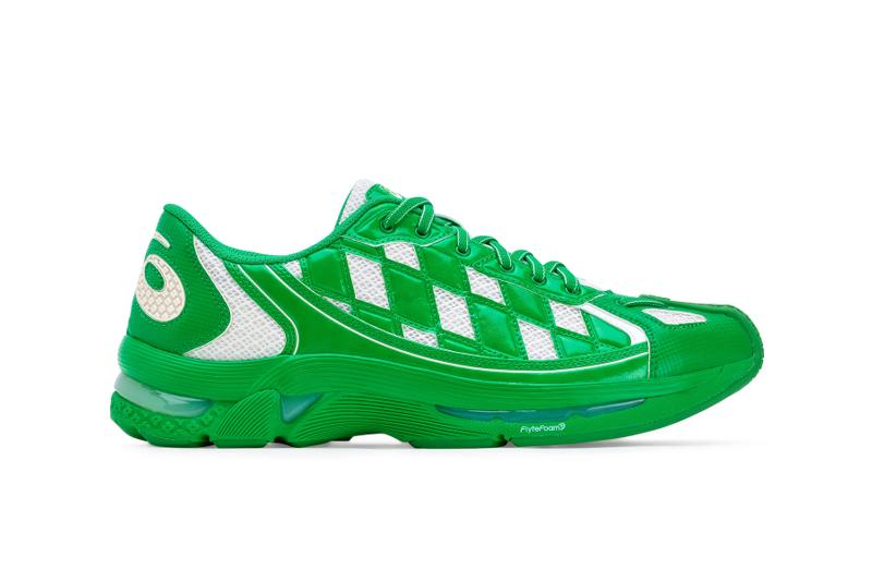 asics x Kiko Kostadinov Collaboration Campaign Green White Sneaker Release
