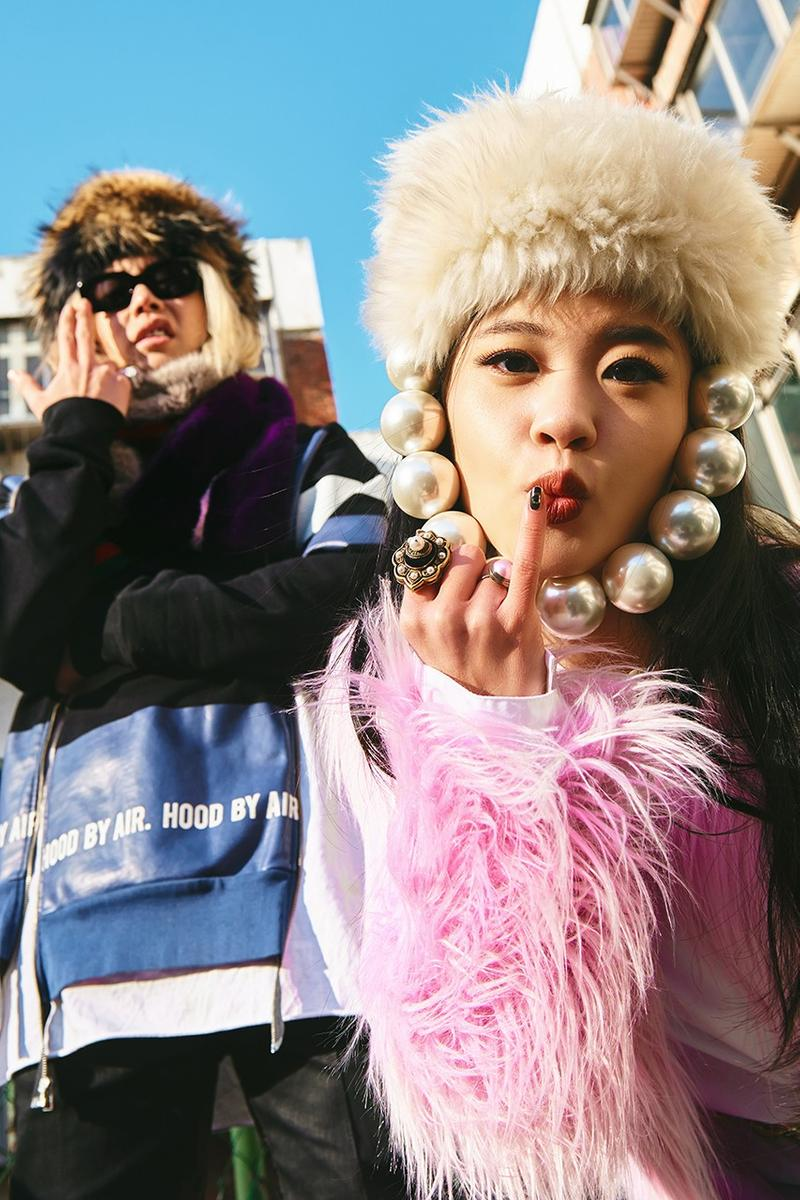 korean hip hop female artists musicians rappers lil cherry goldbuuda portrait