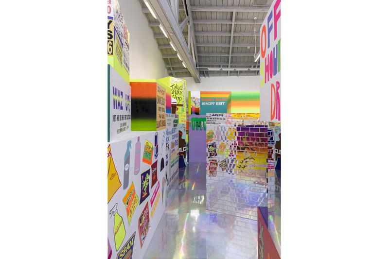 lauren halsey exhibition installation david kordansky gallery los angeles