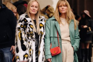 Picture of Street Style Stars Show Us How to Wear the Latest Trends at London Fashion Week FW20