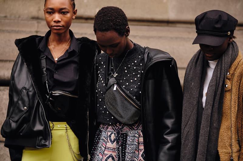 Street Style London Fashion Week Fall Winter 2020 models off duty