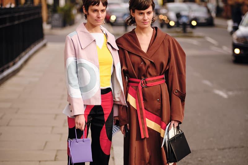 Street Style London Fashion Week Fall Winter 2020 bags