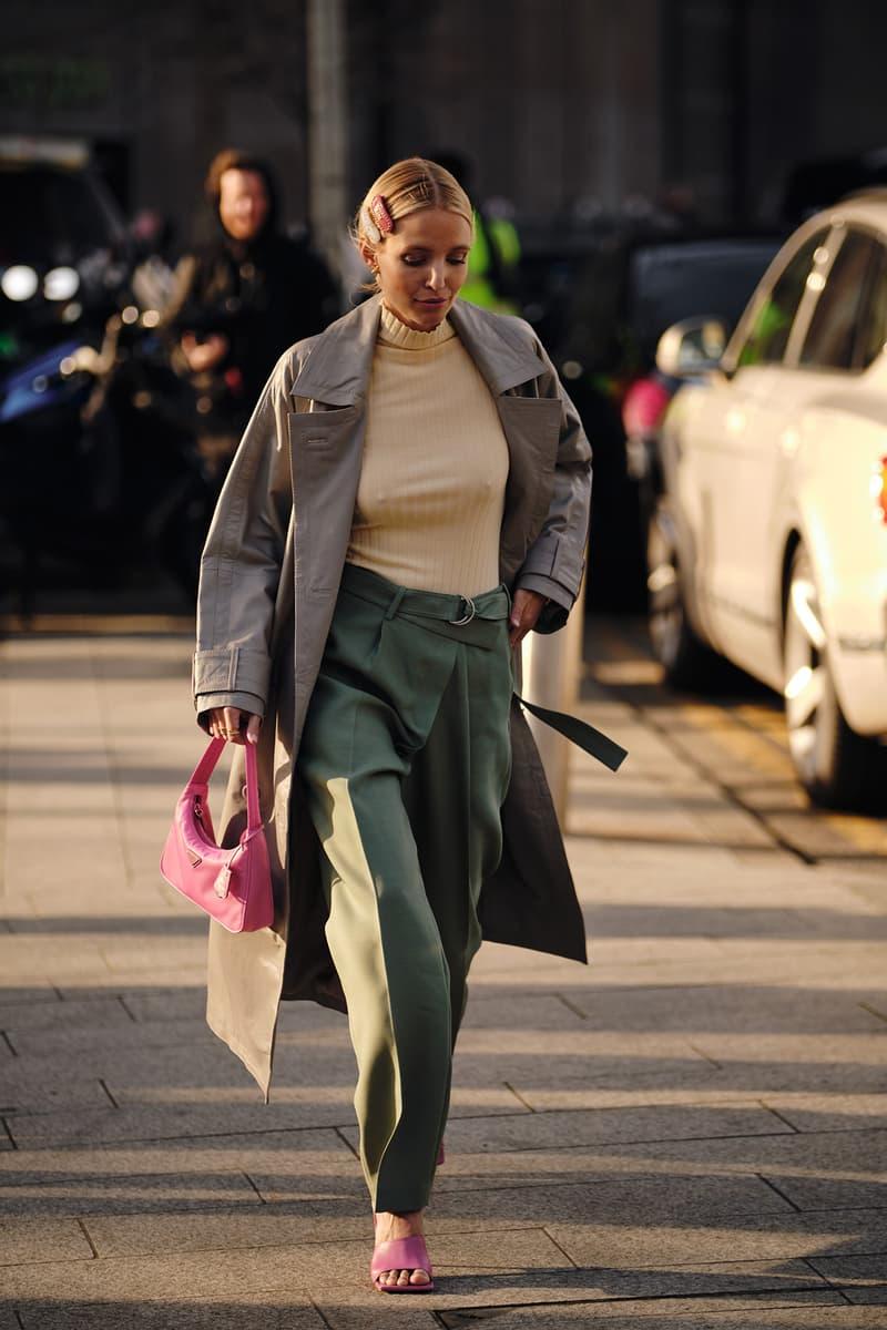 Street Style London Fashion Week Fall Winter 2020 Pink Prada Bag