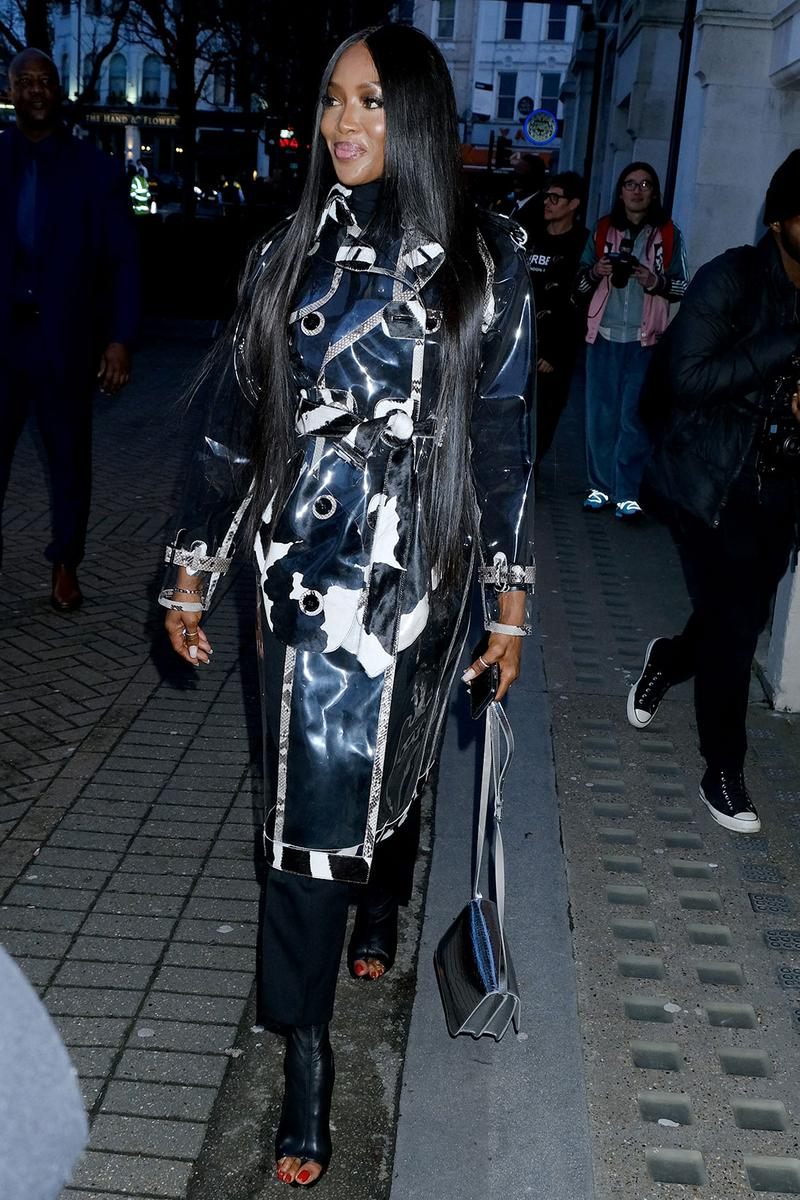 london fashion week fw20 celebrities naomi campbell