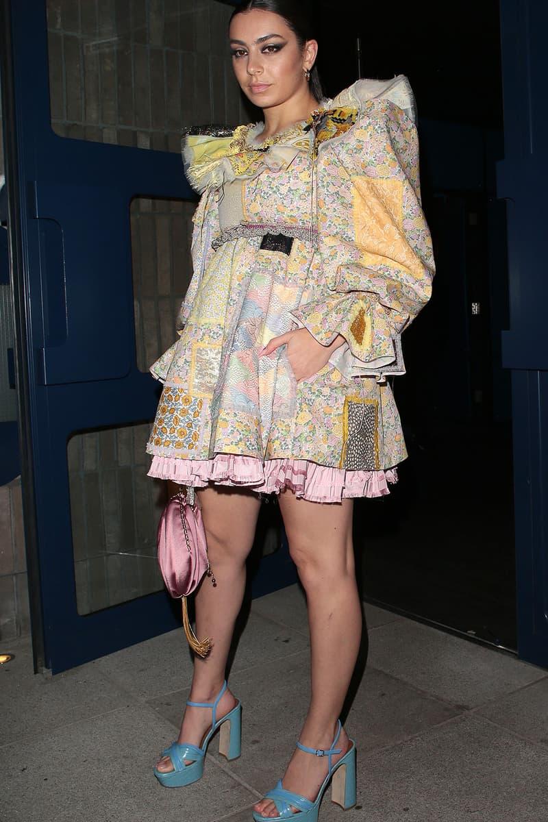 london fashion week fw20 celebrities charli xcx