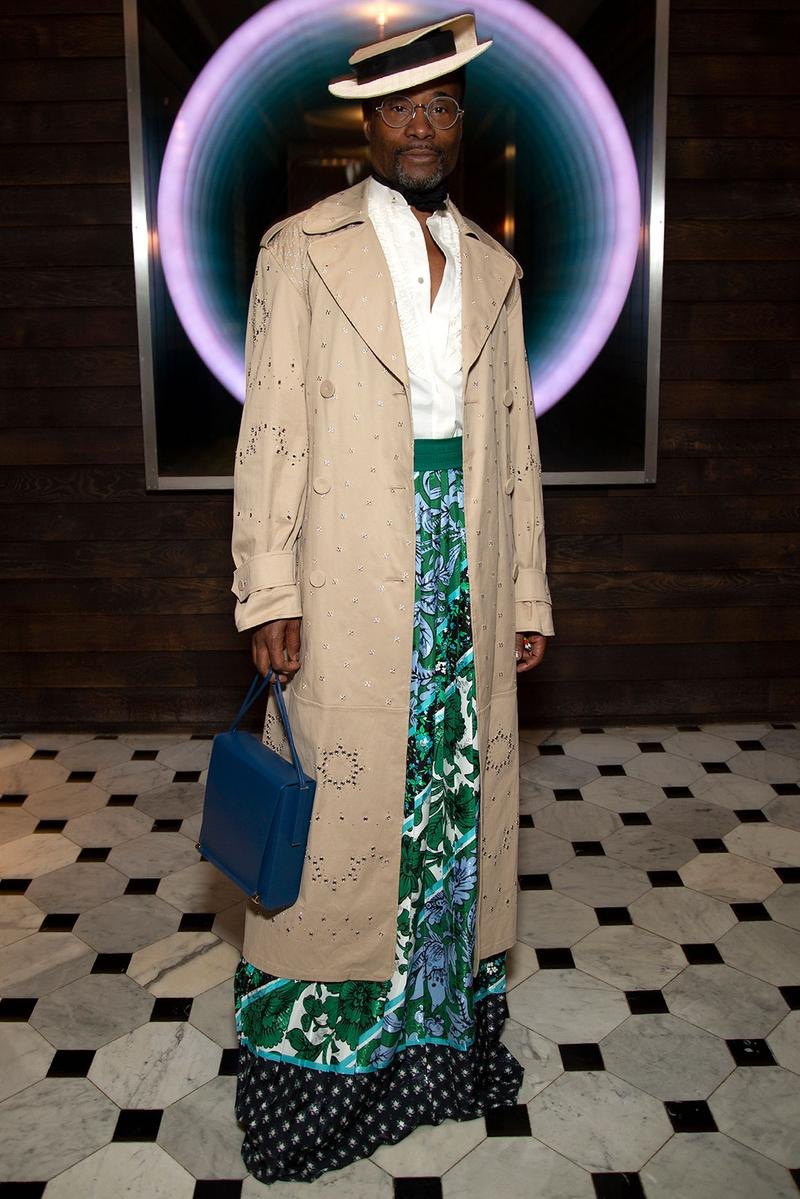 london fashion week fw20 celebrities billy porter
