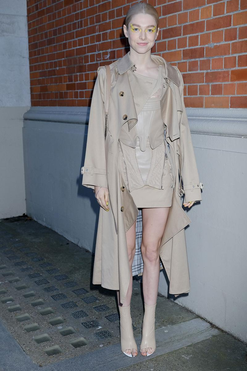 london fashion week fw20 celebrities hunter schafer