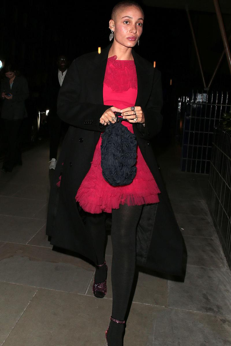 london fashion week fw20 celebrities adwoa aboah