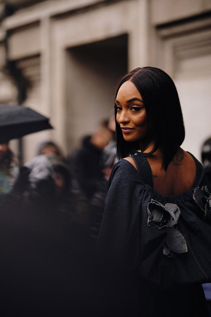 london fashion week fw20 celebrities jourdan dunn