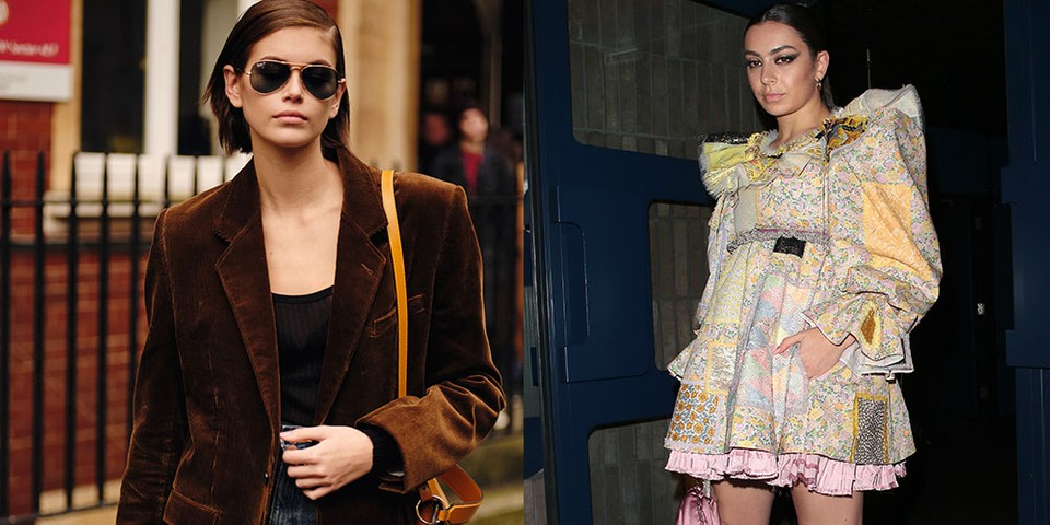 See the Best Celebrity Looks From London Fashion Week FW20