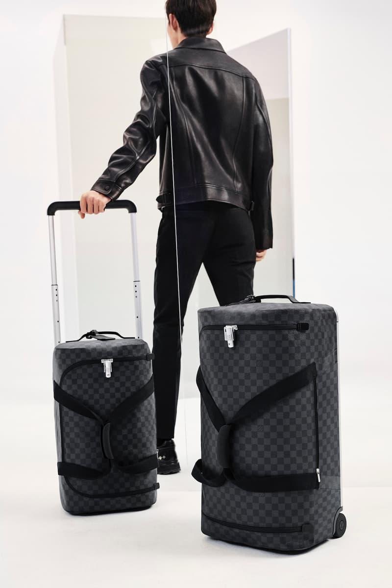 Louis Vuitton Logo Monogram Suitcase Colors Release Spring Summer 2020