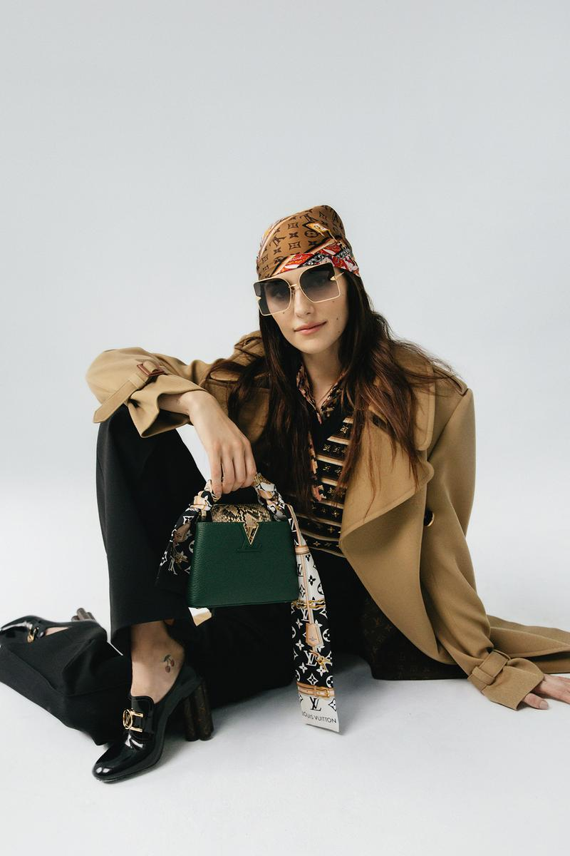 Louis Vuitton Spring/Summer 2020 Accessories Collection Lookbook Devon Lee Carlson