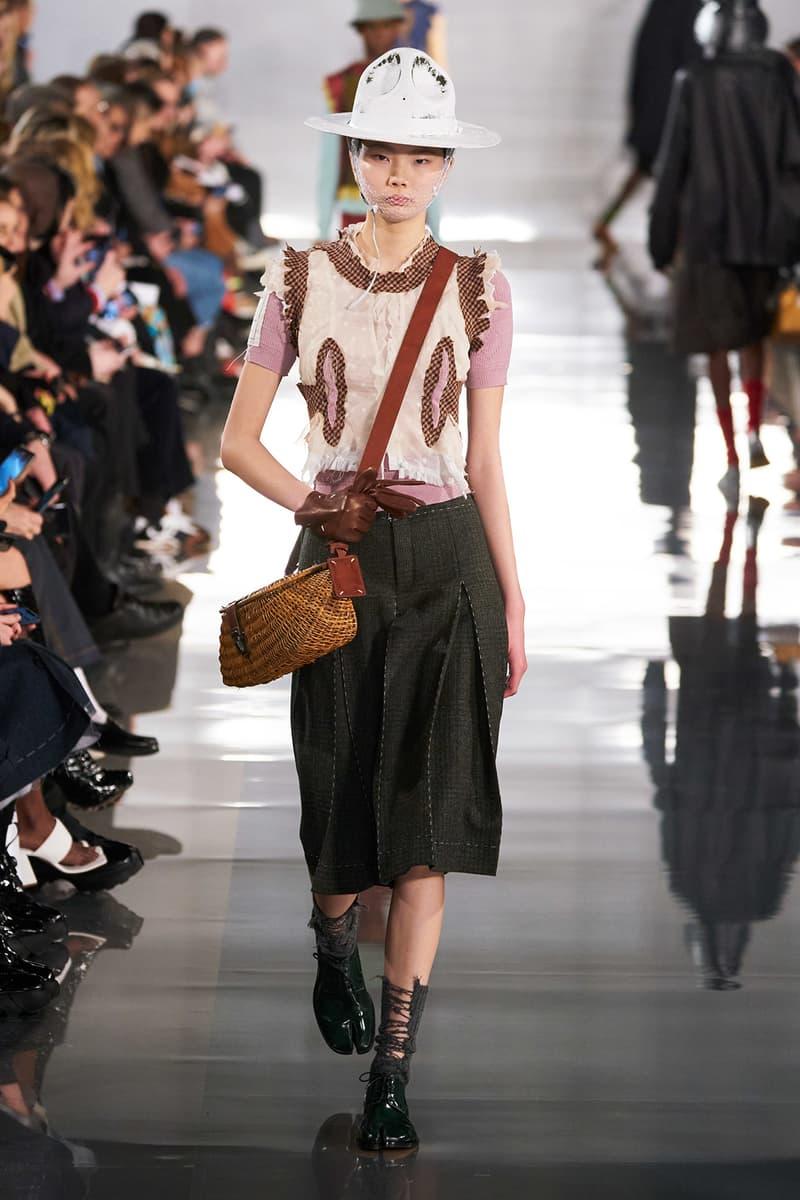 Maison Margiela Fall/Winter 2020 Collection Runway Show Skirt Grey
