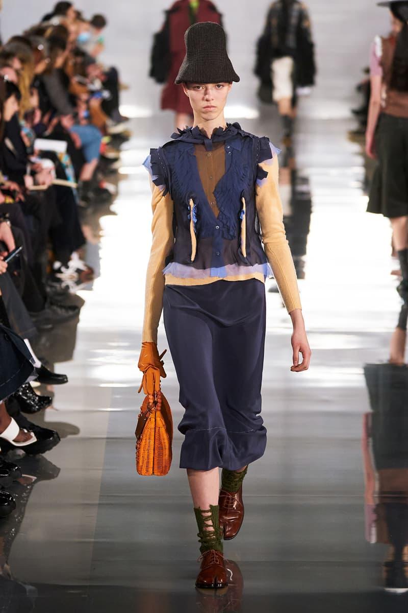 Maison Margiela Fall/Winter 2020 Collection Runway Show Pants Grey