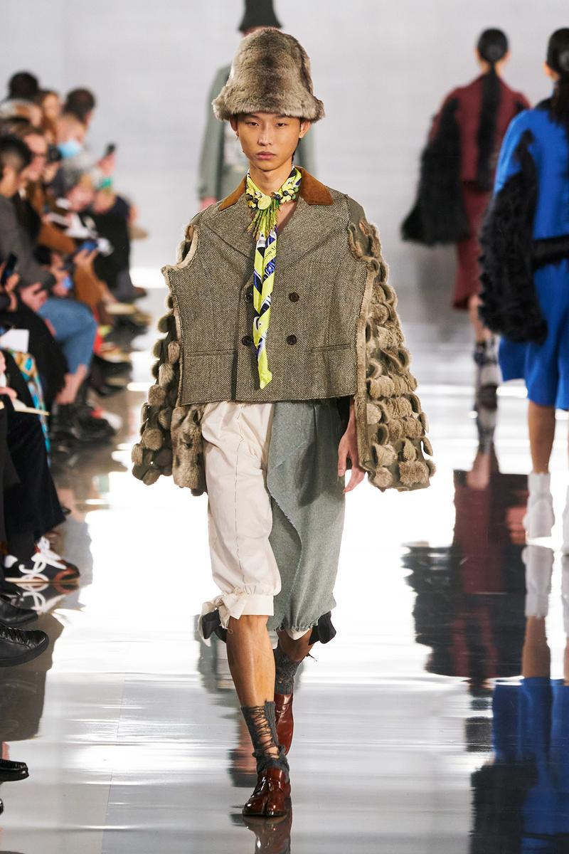 Maison Margiela Fall/Winter 2020 Collection Runway Show Jacket Green