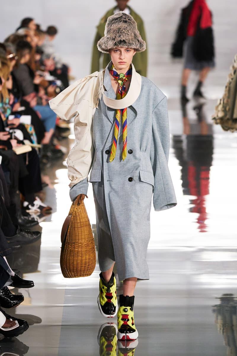 Maison Margiela Fall/Winter 2020 Collection Runway Show Coat Grey