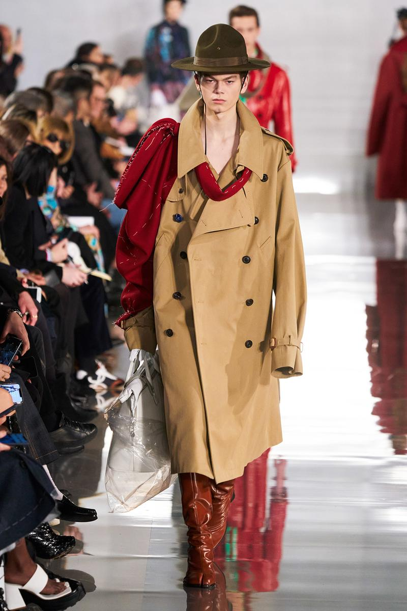 Maison Margiela Fall/Winter 2020 Collection Runway Show Trench Coat
