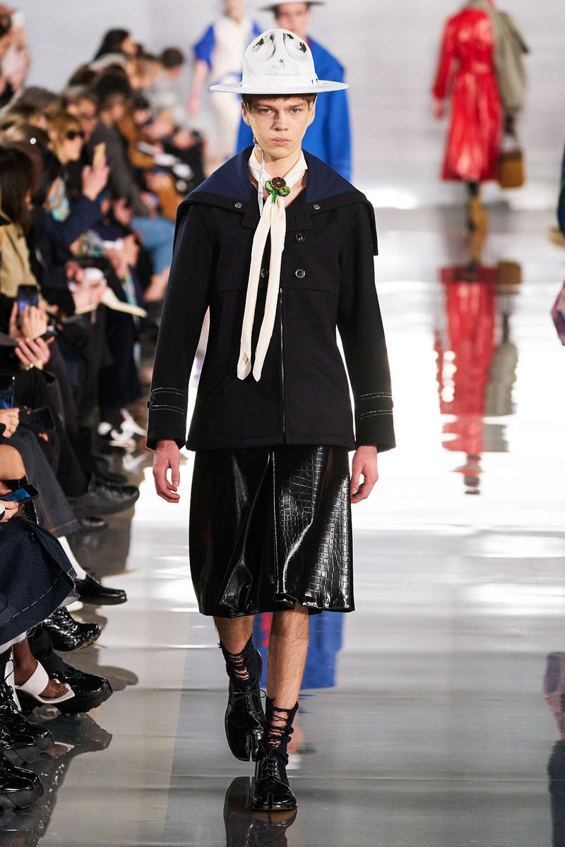 Maison Margiela Fall/Winter 2020 Collection Runway Show Jacket Black