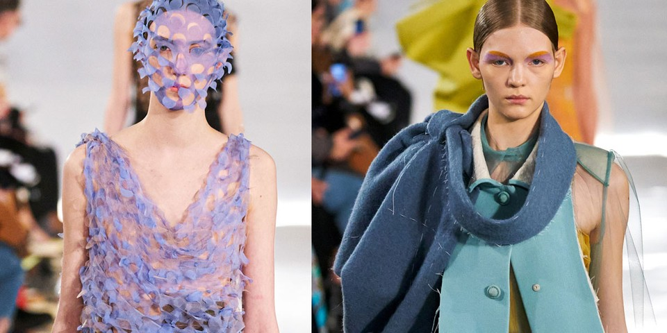 John Galliano Incorporates Thrift Store Finds Into His Maison Margiela FW20 Collection