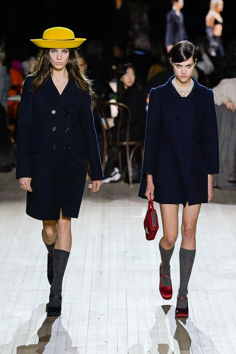 marc jacobs new york fashion week nyfw fall winter collection kaia gerber miley cyrus