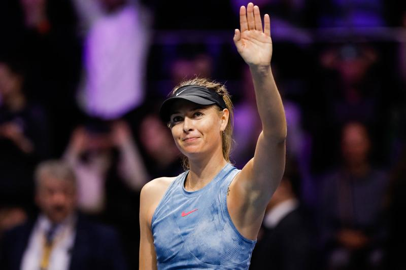 Maria Sharapova WTA St. Petersburg 2019