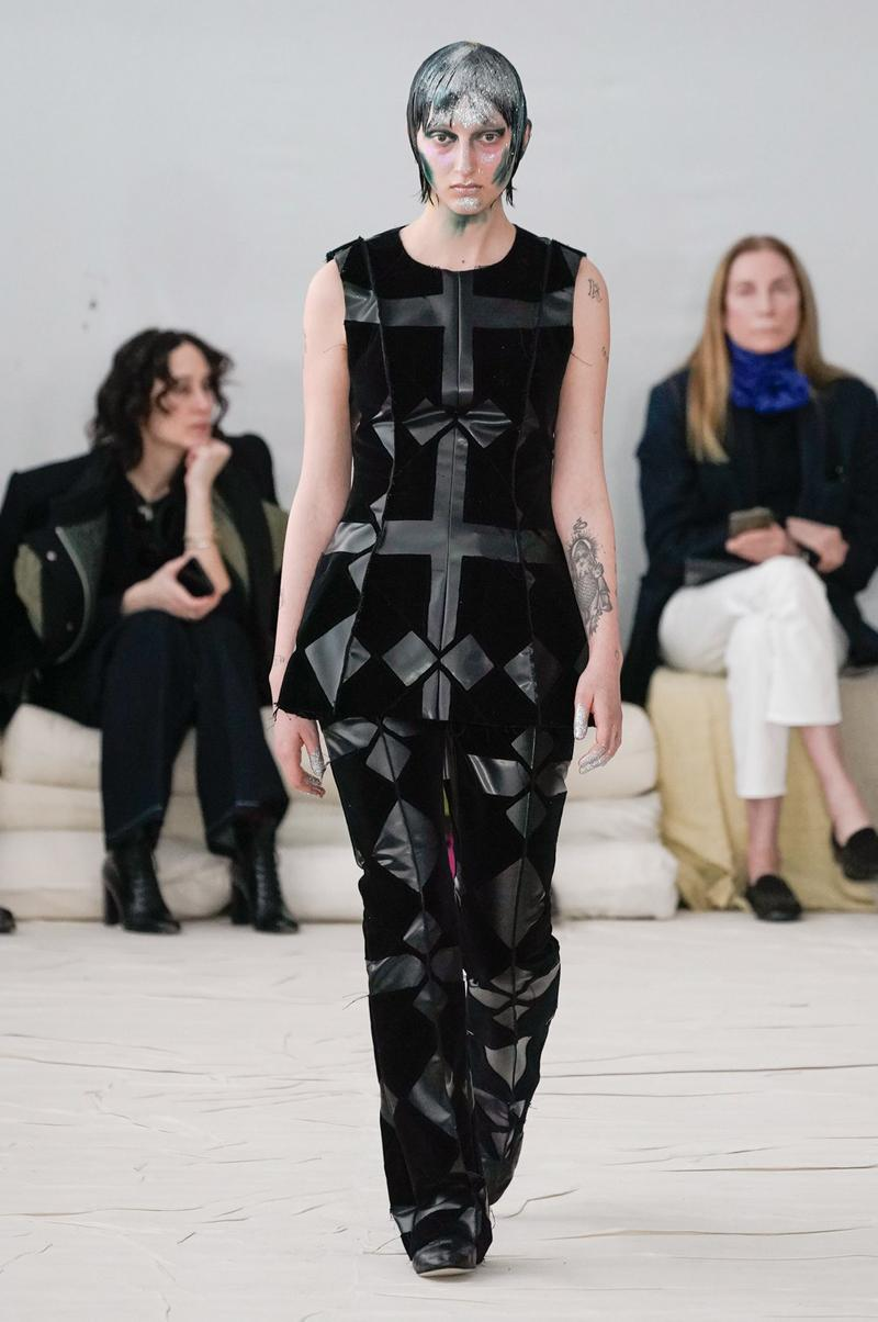 Marni Fall/Winter 2020 Collection Runway Show Top Pants Black