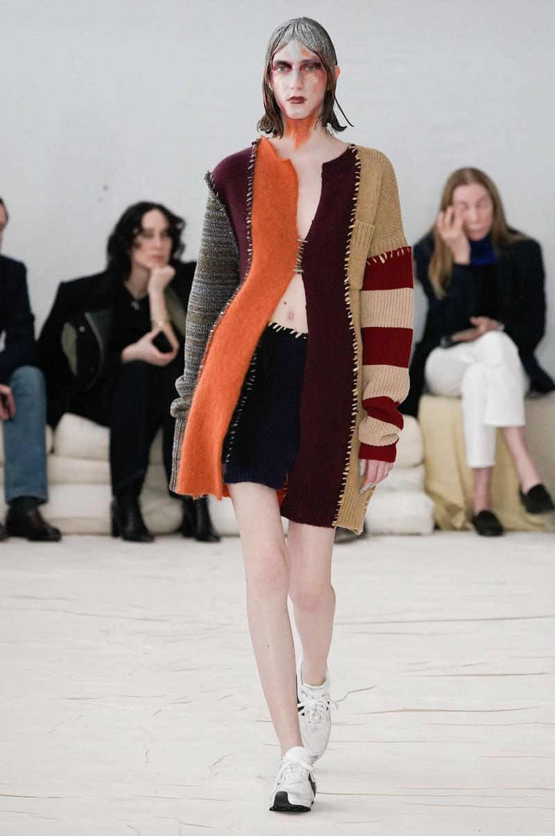 Marni Fall/Winter 2020 Collection Runway Show Cardigan Knit