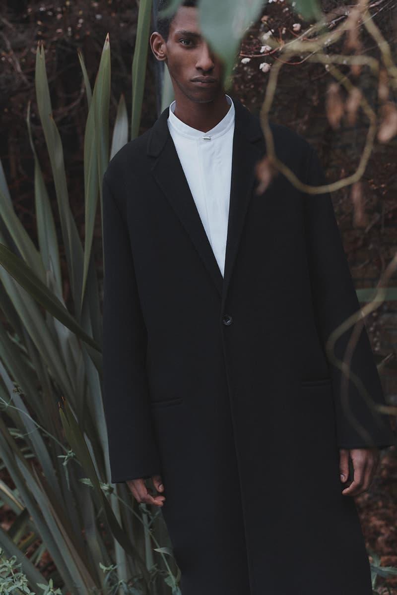 jil sander matchesfashion spring summer collaboration installation lucie luke meier suits black white pants