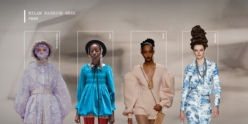 The Top 6 Shows and Runway Trends at Milan Fashion Week FW20