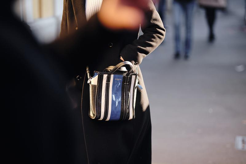 Balenciaga Bazar Shopper Bag Street Style Trends Milan Fashion Week Fall Winter 2020 FW20