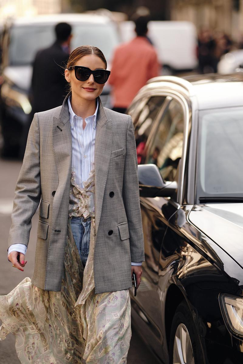 Olivia Palermo Street Style Trends Milan Fashion Week Fall Winter 2020 FW20 Influencer