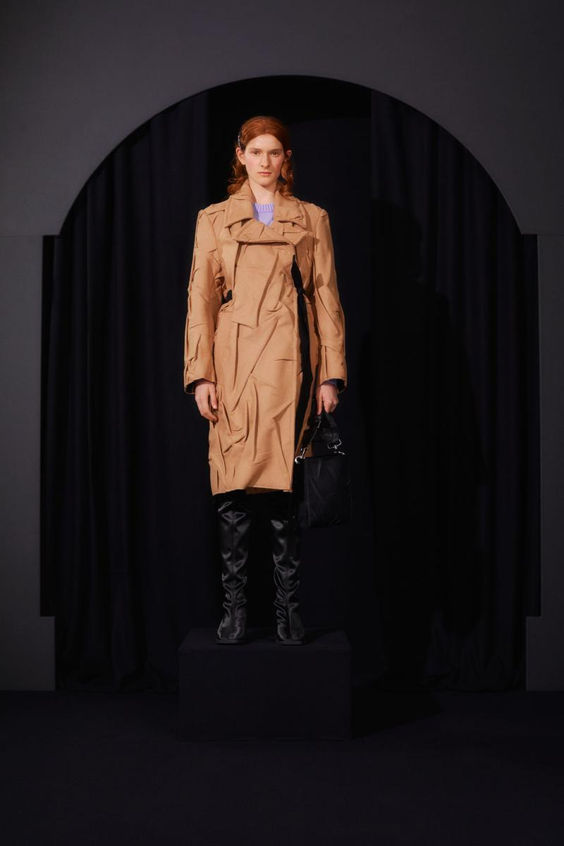 mm6 maison margiela fall winter collection lookbook john galliano boots dresses bags trompe loeil