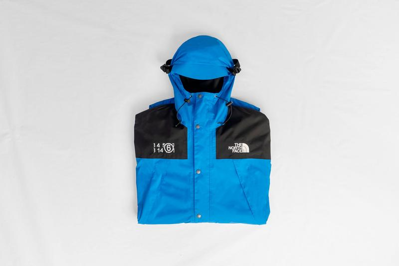 the north face mm6 maison margiela collaboration london fashion week fall winter outerwear coats