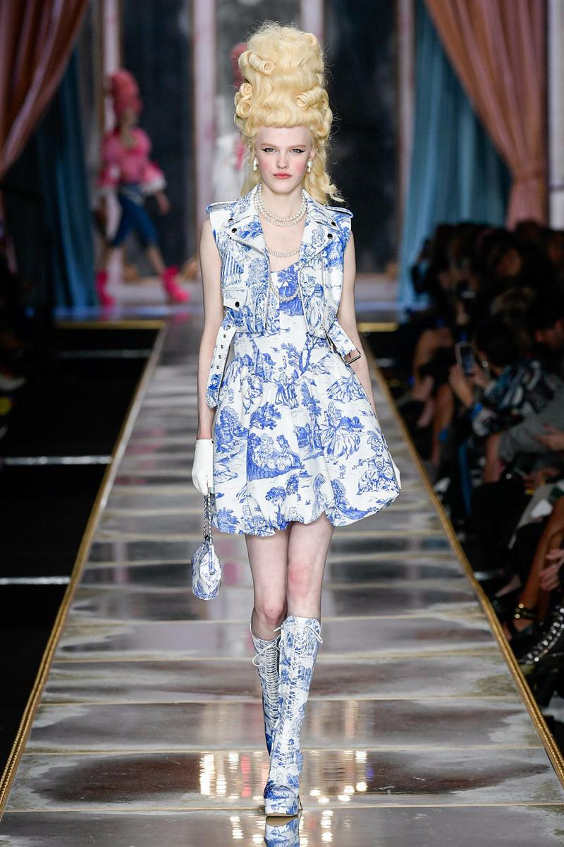 Moschino Fall/Winter 2020 Collection Runway Show Dress Toile