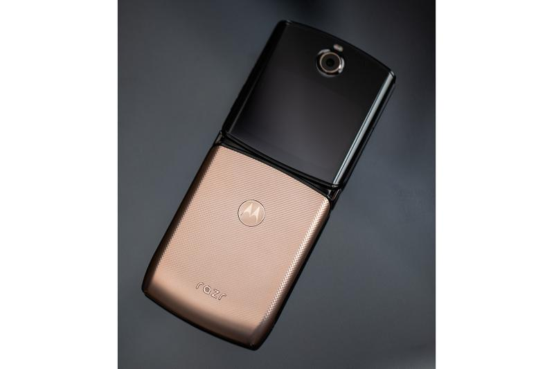 Motorola razr Phone Rose Blush Gold