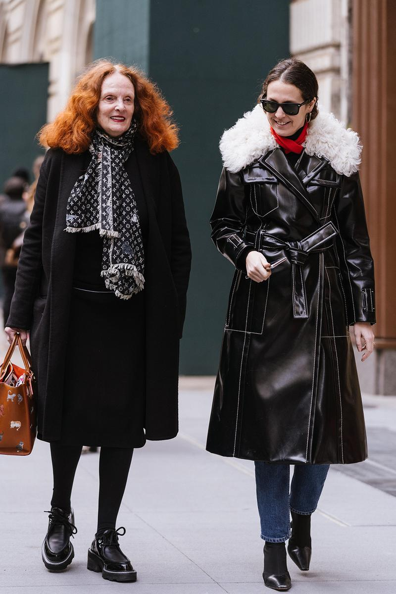 Best Street Style At New York Fashion Week Fw20 Hypebae