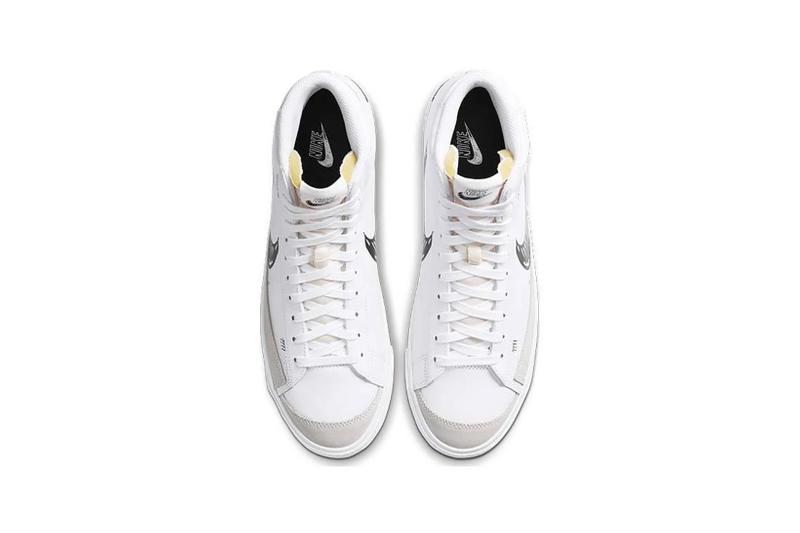 Nike Air Force 1 Blazer Mid Sketch Sneakers White Black