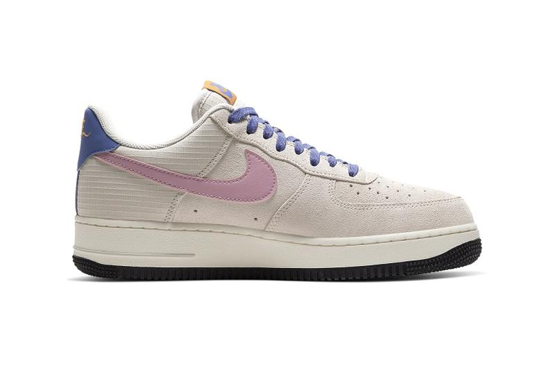 nike air force 1 sneakers acg pastel pink taupe purple