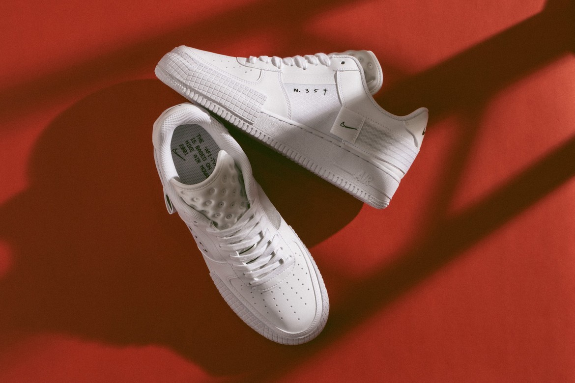 Nike Air Force 1 Type White Sneaker Release Hypebae Browse our nike air force 1 shadow collection for the very best in custom shoes, sneakers, apparel, and accessories by independent artists. nike air force 1 type white sneaker