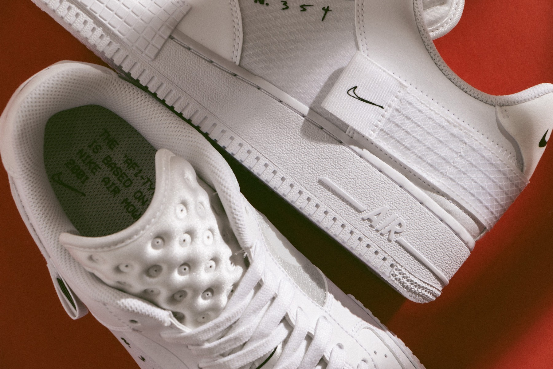 all types of nike air force 1