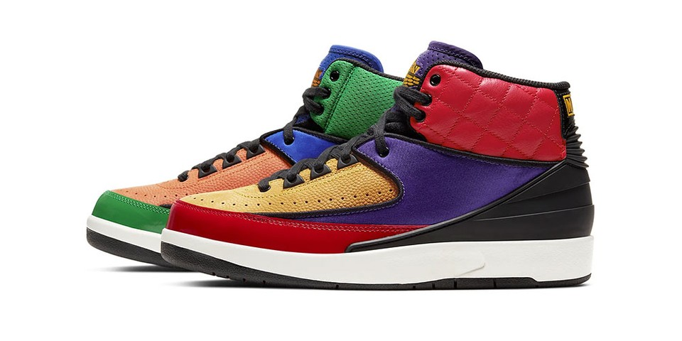 Nike's Latest Air Jordan 2 Retro is the Ultimate Asymmetrical Shoe