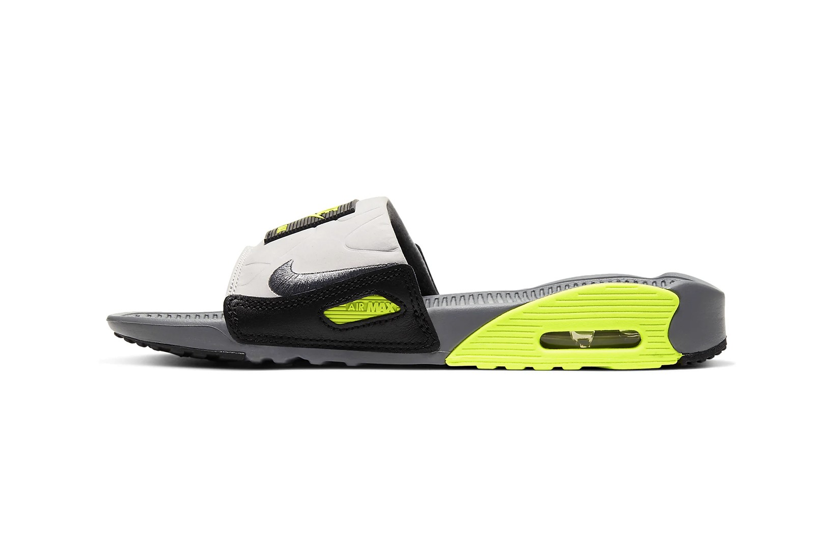 Nike Air Max 90 Women's Slide in Neon
