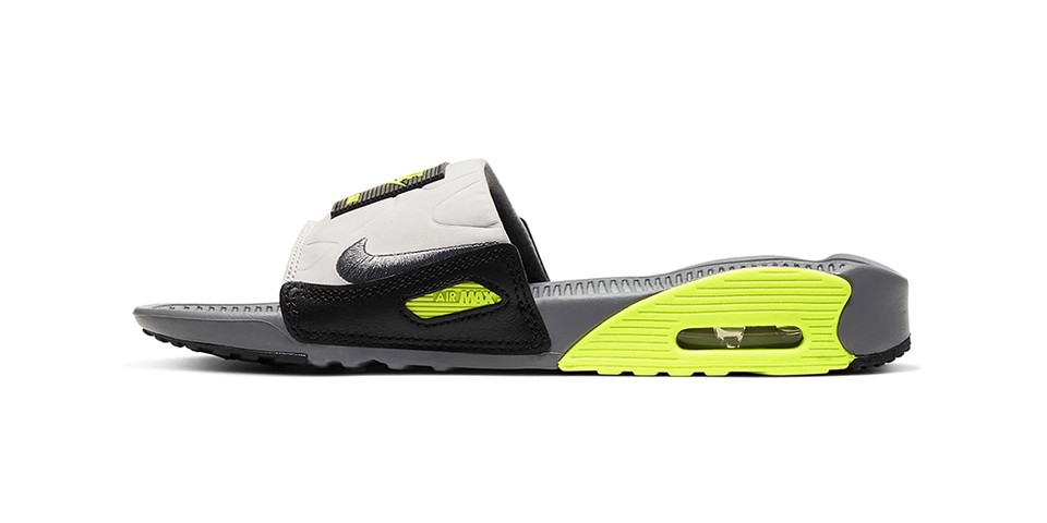 Nike Gives the Air Max 90 Slide a Neon Green Makeover