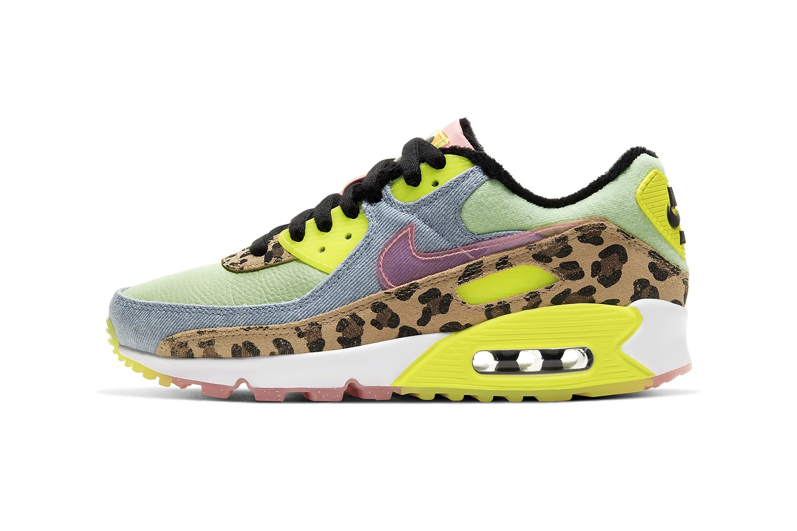 Nike Air Max 90 in Neon Green with