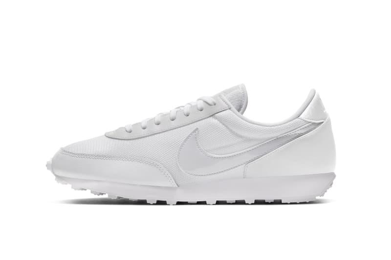 Nike Daybreak White/Barely Grape Sneaker Release Minimal Retro Footwear