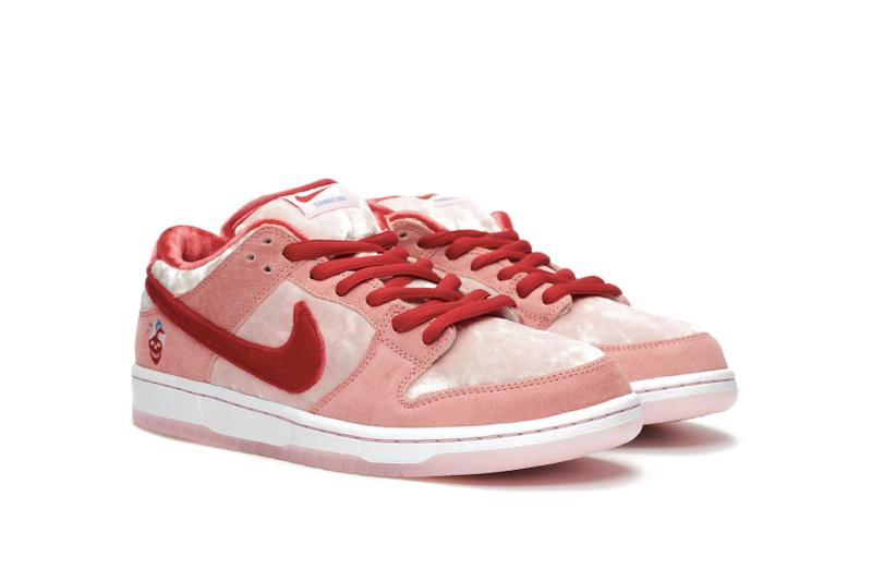 "Nike SB Dunk Low ""Bright Melon"" Sneaker Release"