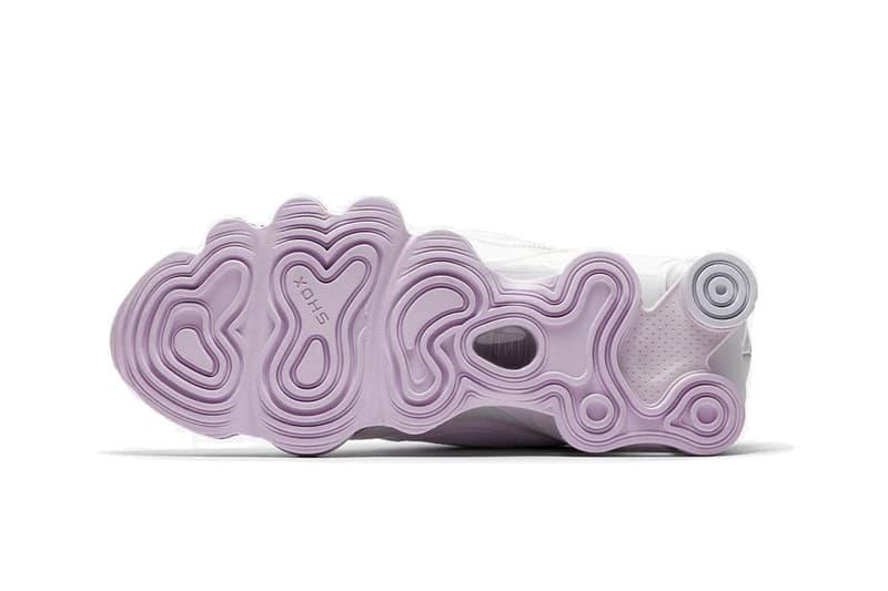 "Nike Shox TL Nova ""Barely Grape/White"" Sneaker"