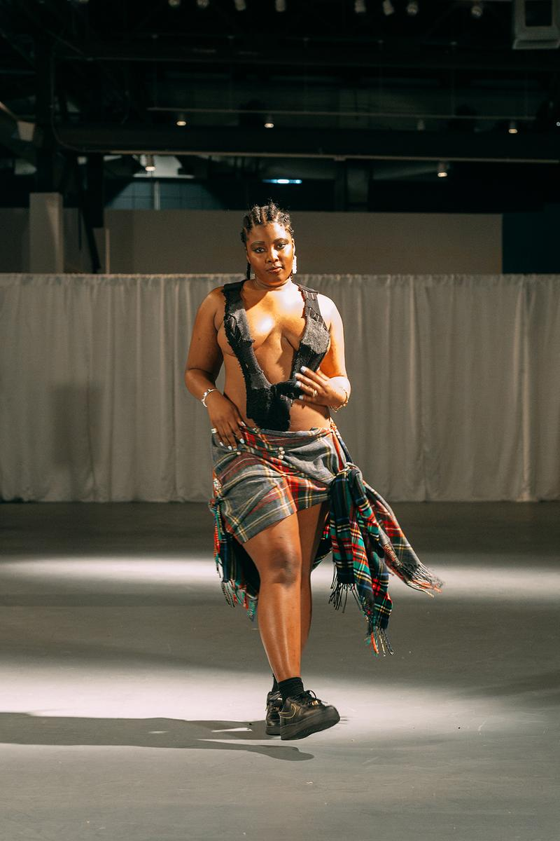 no sesso pierre davis arin hayes autumn randolph fall winter collection los angeles runway show