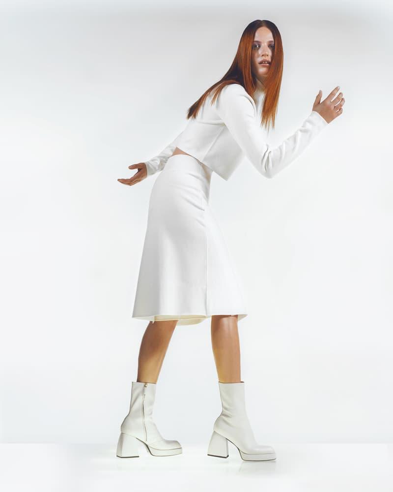 Nodaleto Spring Summer 2020 Lookbook White Boots